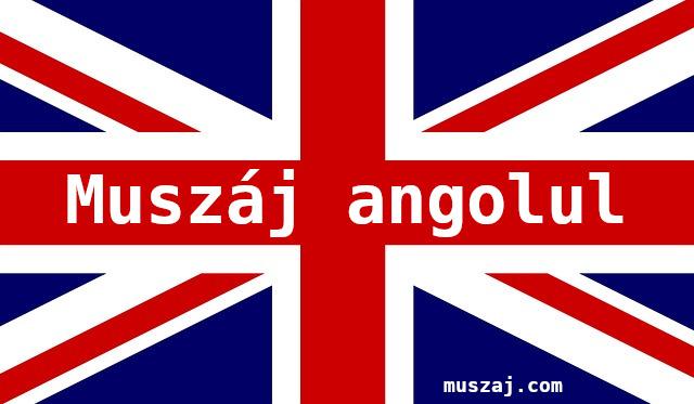 muszáj angolul
