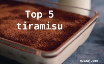top 5 tiramisu