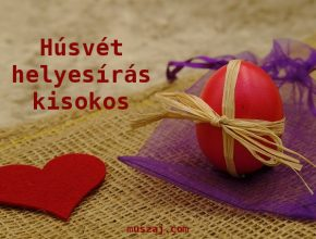 húsvét helyesíás