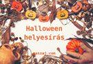 halloween helyesírás