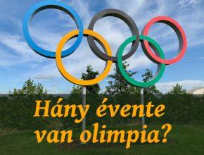 hány évente van olimpia